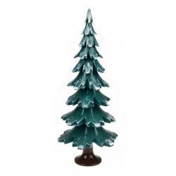 Gahlenz - Baum grün-weiß lackiert 29 cm