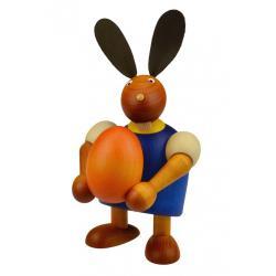 Drechslerei Martin - Hase mit Ei blau, groß