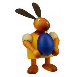 Drechslerei Martin - Hase mit Ei gelb, groß