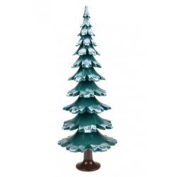 Gahlenz - Baum grün-weiß lackiert 38 cm