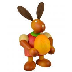 Drechslerei Martin - Hase mit Ei rot, groß maxi