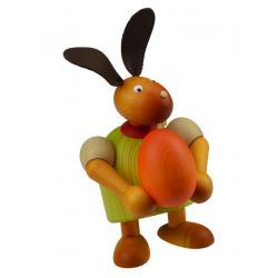 Drechslerei Martin - Hase mit Ei grün, groß