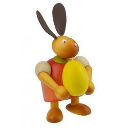 Drechslerei Martin - Hase mit Ei rot, groß