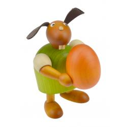 Drechslerei Martin - Hase mit Ei grün