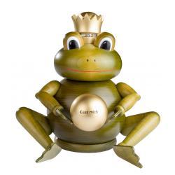 KWO - Räuchermann Froschkönig