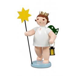 Ellmann - Engel mit Stern und Lampe, groß 22 cm