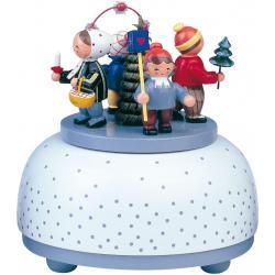KWO - Spieldose, klein - Winterkinder