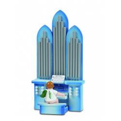Ellmann - Orgel mit Engel, mit Spielwerk
