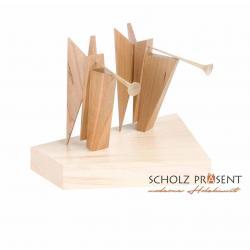 Kneisz Design - Krippe Magdalena Posaunen-steh-Engel