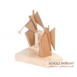 Kneisz Design - Krippe Magdalena Posaunen-steh-sitz-Engel