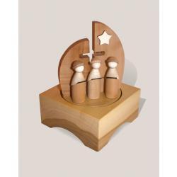 Rauta Edition FG  - Spieldose Kirche mit Kurrende im modernen Design