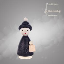Hennig Figuren - Kurrendekind mit Laterne modern schwarz
