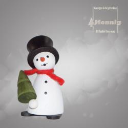 Hennig Figuren - Schneemann mit Baum