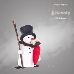 Hennig Figuren - Schneemann mit Möhre