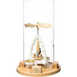 Richard Glässer - Glaszylinder für Sonnen- und Windlichtpyramide