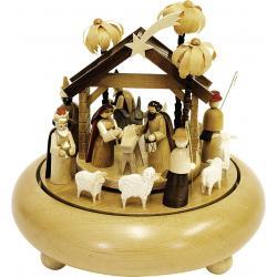 Richard Glässer - Spieldose  Christi Geburt