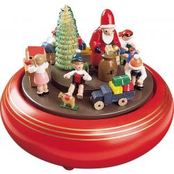 Richard Glässer - Spieldose  Weihnachtsbescherung, 18er Spielwerk