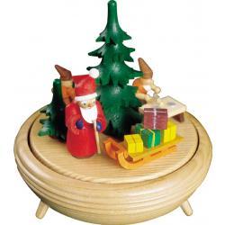 Richard Glässer - Spieldose  Weihnachtswerkstatt, 18er Spielwerk