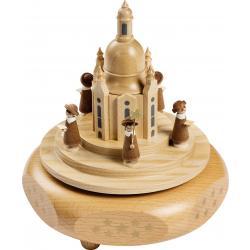 Richard Glässer - Spieldose  Dresdner Frauenkirche mit  Kurrende