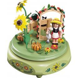 Richard Glässer - Spieldose  Gartenidyll, 18er Spielwerk