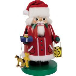 Richard Glässer - Nussknacker Weihnachtsmann mit Swarovski-Steinen