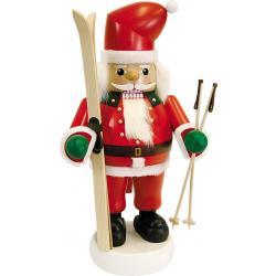Richard Glässer - Nussknacker Santa mit Skiern