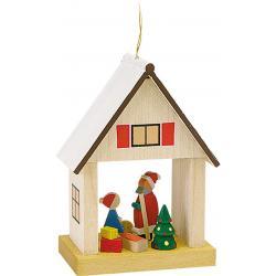 Richard Glässer - Baumbehang Haus Weihnachtsmann
