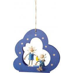 Richard Glässer - Baumbehang Wolke Sterne