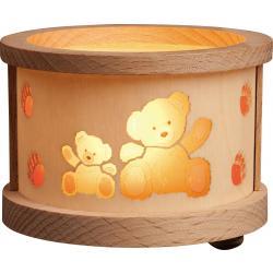 Richard Glässer - Teelichtlaterne Teddys