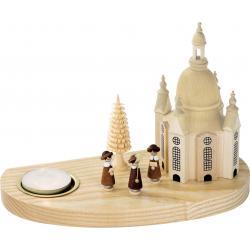 Richard Glässer - Kerzenhalter für Teelichte Frauenkirche mit  Kurrende