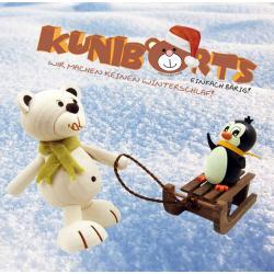 Eisbär Kunibärt mit On Tour mit Pinguin