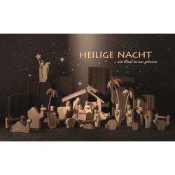 Günter Reichel - Weihnachtskrippe komplett