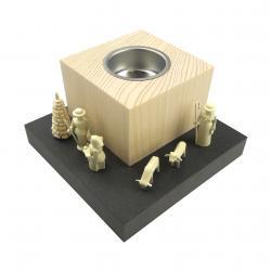 Wolfgang Braun - Leuchterstehle mit Miniaturen, klein