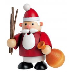 KWO - Räuchermann Weihnachtsmann mini