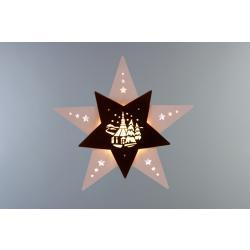 Weigla - Fensterbild Stern