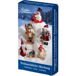 Seiffener Volkskunst eG - Räucherkerzen Weihnachtliche Mischung