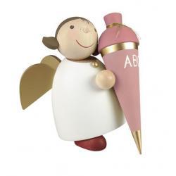 Günter Reichel - Schutzengel mit Schultüte rosa, Größe 5