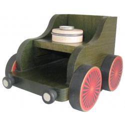 KWO - Eisenbahnwagen, grün