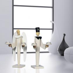 KWO - Engel und Bergmann im modernen Design, für Teelichter