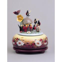 KWO - Spieldose, klein - musizierende Käfer