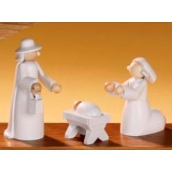 KWO - Figuren für Lichterbogen - Heilige Familie, 3 tlg.