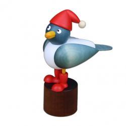 Drechslerei Martin - Weihnachtsmöwe, hellblau