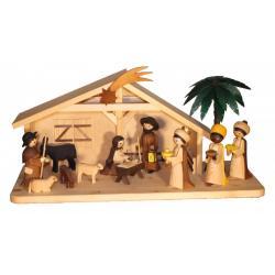Ulmik - Krippenhaus für 13cm Figuren