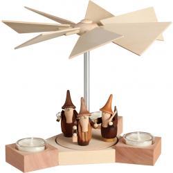 Seiffener Volkskunst eG - Pyramide Hexagonum Gnome