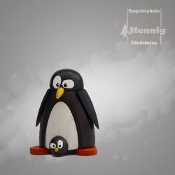Hennig Figuren - Pinguin mit Baby