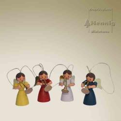 Hennig Figuren - Engelchen Baumschmuck Set