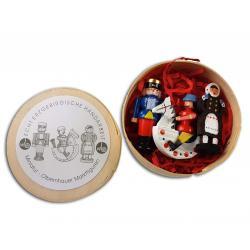Wolfgang Braun - Miniatur in Spandose Olbernhauer Marktfiguren