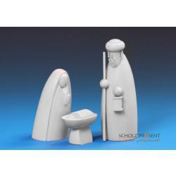 Schalling - Heilige Familie, weiß lasiert