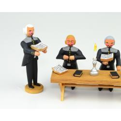 Walter Werner - Betstube, 4 Bergleute und 1 Tisch