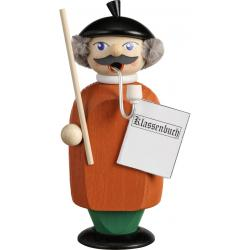 Seiffener Volkskunst eG - Räuchermann Lehrer